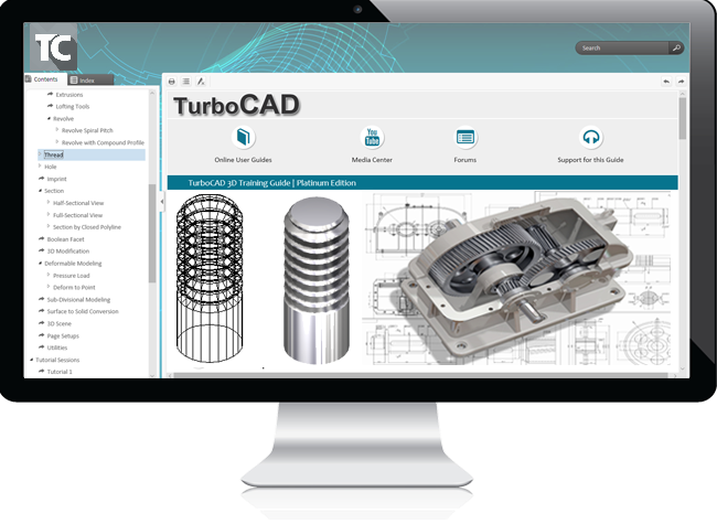 2019 TurboCAD Platinum 3D Training Guide